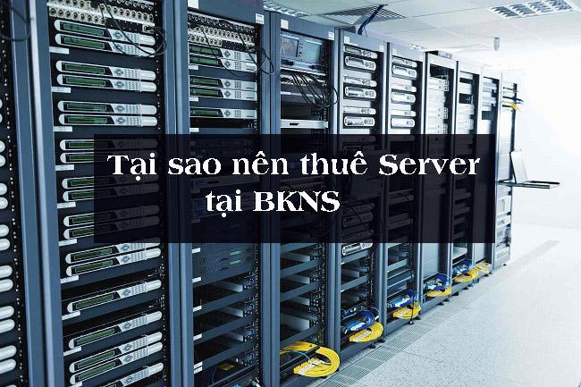 Tại sao nên thuê máy chủ giá rẻ tại BKNS?
