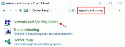 Thay đổi DNS server 1