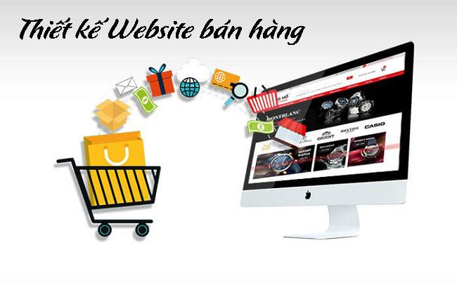 Hướng dẫn thiết kế website bán hàng trực tuyến