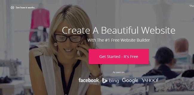 Thiết kế web miễn phí từ WebStarts