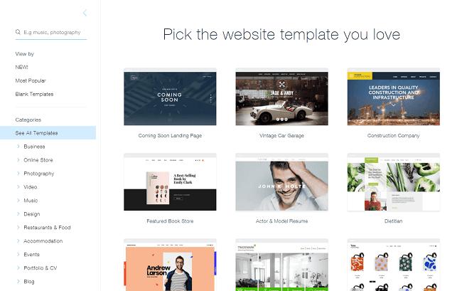 Wix là địa chỉ tin cậy để thiết kế website miễn phí dựa trên thao tác kéo thả đơn giản