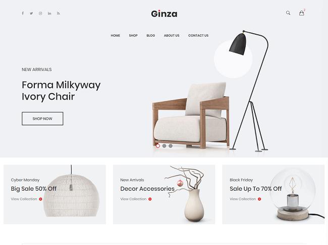 Thiết kế website nội thất là sự kết hợp hài hòa giữa óc sáng tạo