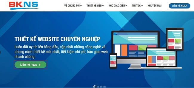 Thiết kế website tại BKWeb