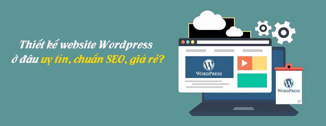 Thiết kế website wordpress đang được rất nhiều người dùng