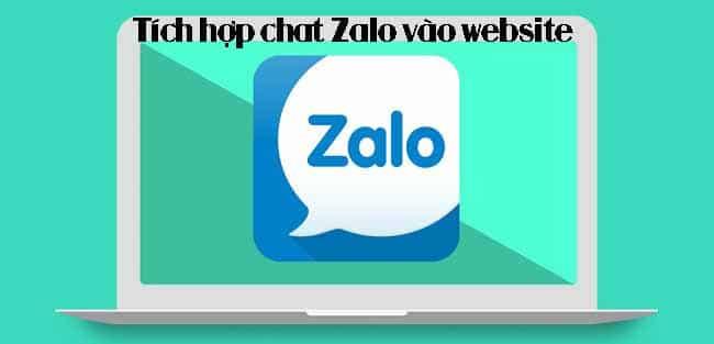Hướng dẫn chi tiết tích hợp chat Zalo vào website