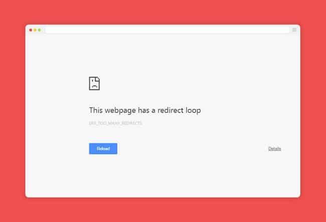 Nguyên nhân gây ra lỗi trang web bị chuyển hướng và cách khắc phục