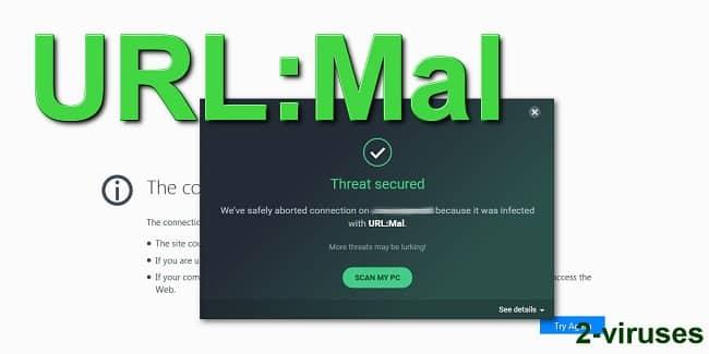 URL mal là 1 trong các DNS nguy hiểm có liên quan đến nền tảng quảng cáo