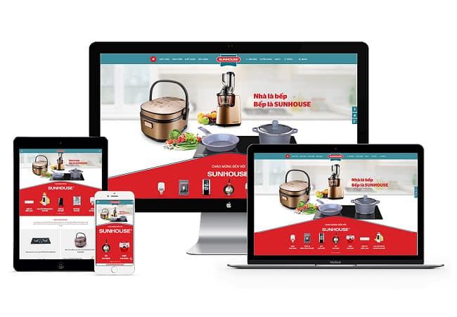 Website là nơi chứa mọi thông tin hữu ích mà doanh nghiệp muốn truyền tải đến khách hàng