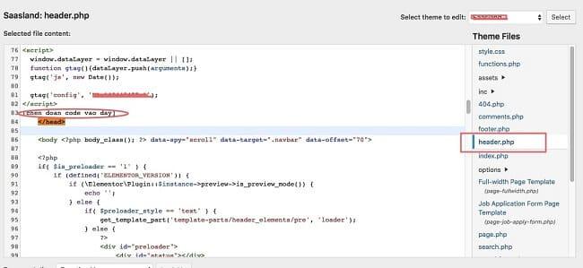 Xác minh với tệp HTML 1