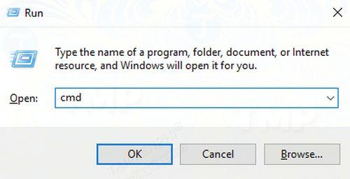 Xóa thiết lập DNS qua Command Prompt