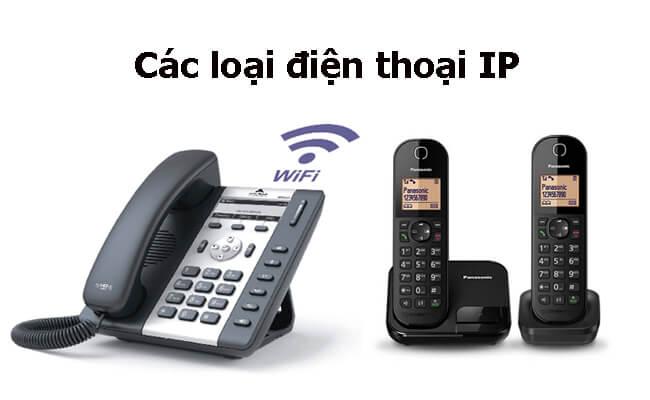 Các loại điện thoại IP