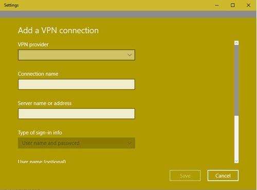 Cách cài đặt mạng riêng ảo VPN 2