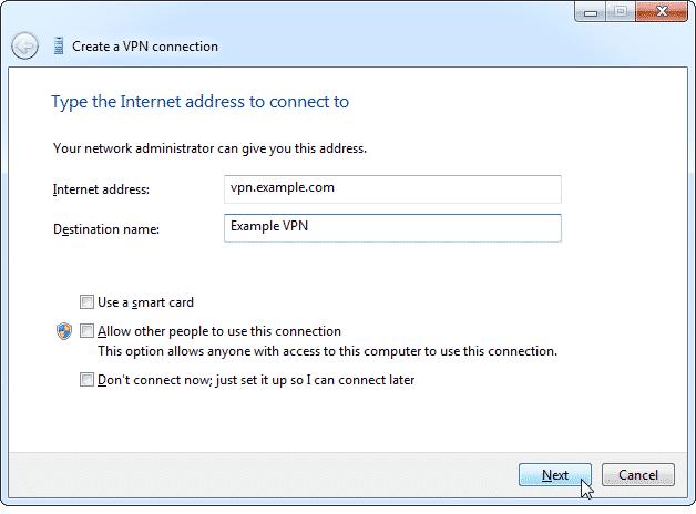 Cách sử dụng VPN đơn giản 2