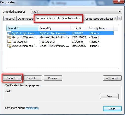 Khắc phục lỗi SSL facebook bằng cách sửa lại chứng chỉ trên Chrome 2
