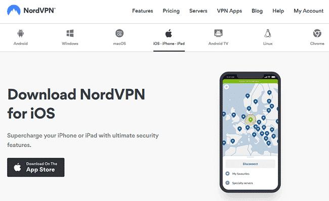 Top 10 VPN tốt nhất cho iPhone
