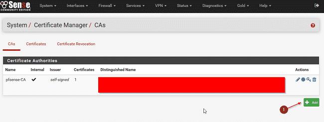 Cấu hình VPN trên Pfsense 1