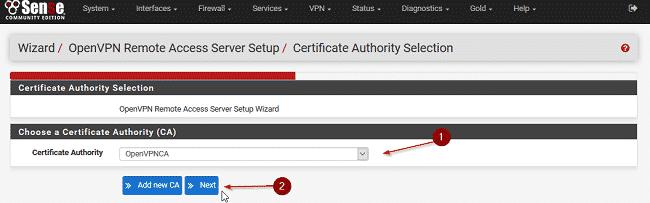 Cấu hình VPN trên Pfsense 9