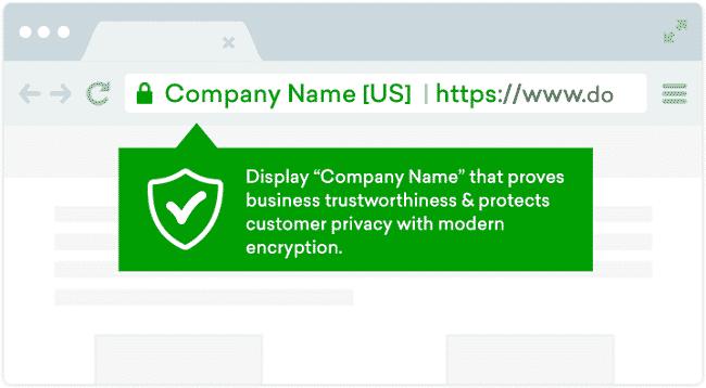 Chứng chỉ xác thực mở rộng (Extended Validation SSL)