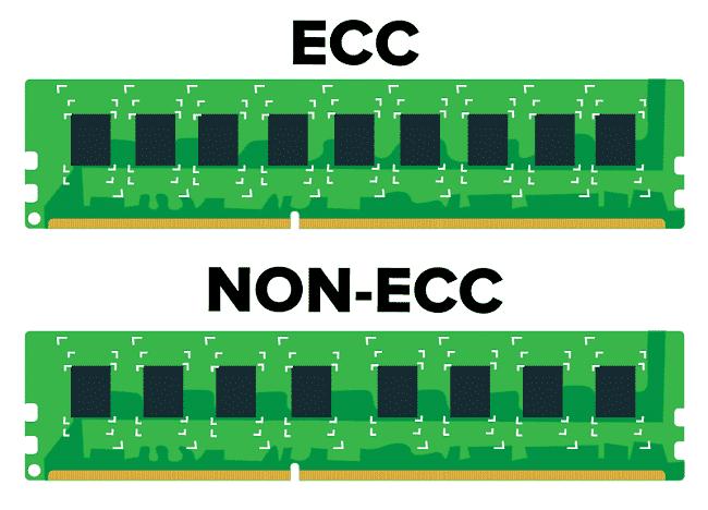 ECC là phần quan trọng trong hệ thống máy chủ