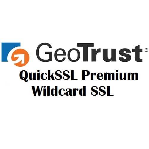 GeoTrust QuickSSL Premium Wildcard