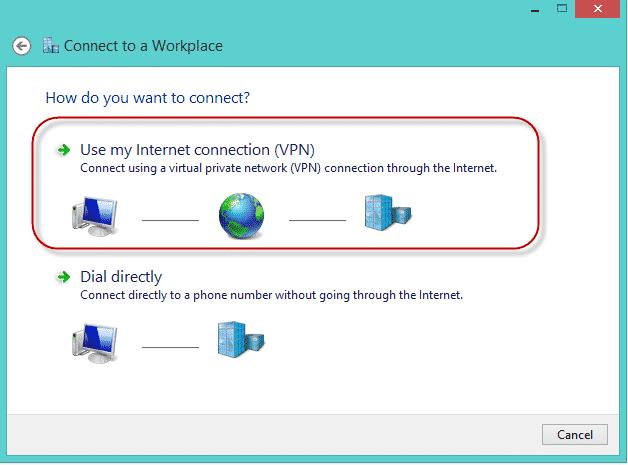 kết nối vpn trên win 7 3
