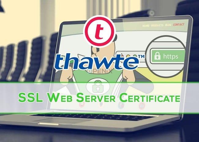 Những tính năng của Thawte SSL