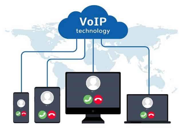 VoIP là công nghệ truyền âm thanh qua IP qua mạng Giao thức Internet