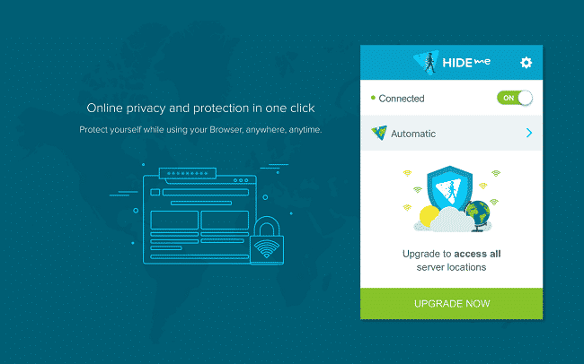VPN cho Chrome – Hide.me